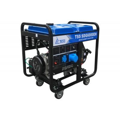Дизельный генератор TSS SDG 6000EH