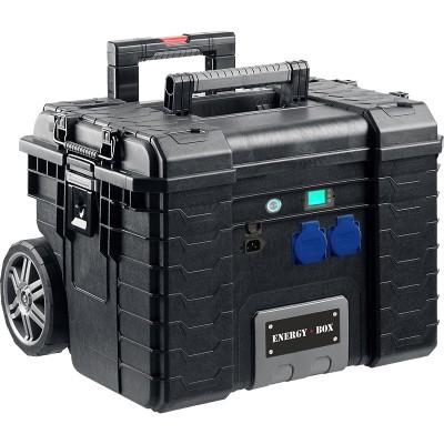 Мобильная автономная розетка EnergyBox LUX-1500