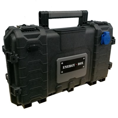 Мобильная автономная розетка EnergyBox LUX-500