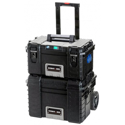 Мобильная автономная розетка EnergyBox PRO-4000