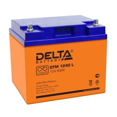 Аккумулятор DELTA DTM 1240 L