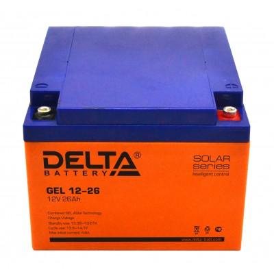 Аккумулятор DELTA GEL 12-26