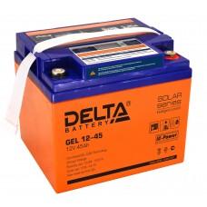 Аккумулятор DELTA GEL 12-45