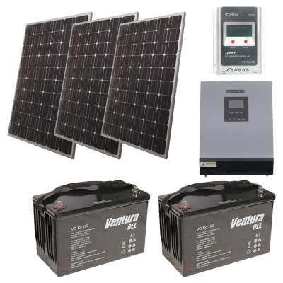 Автономная солнечная электростанция для дачи 7