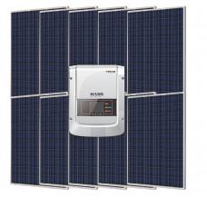 Сетевая солнечная электростанция 2500