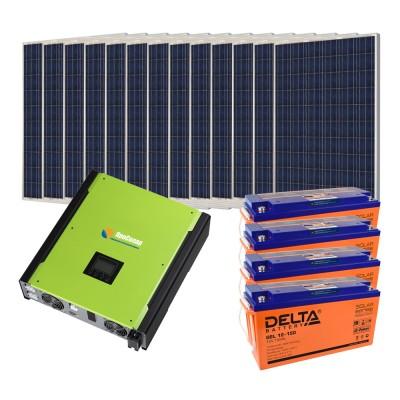 Гибридная солнечная электростанция 3250