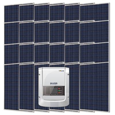 Сетевая солнечная электростанция 6000