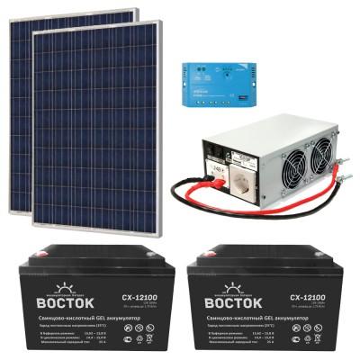 Автономная солнечная электростанция для дачи 6
