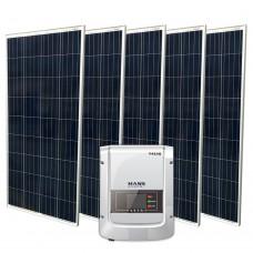 Сетевая солнечная электростанция 750