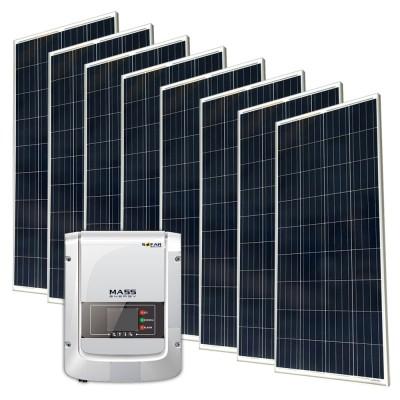 Сетевая солнечная электростанция 1200