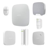 AJAX Система безопасности частный дом 2 этажа WHITE