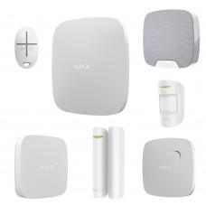 AJAX Система безопасности трёхкомнатная квартира WHITE