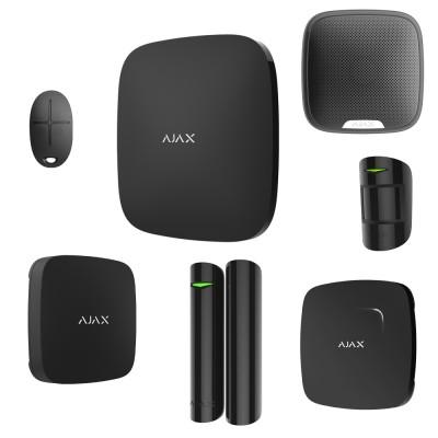 AJAX Система безопасности частный дом 2 этажа BLACK
