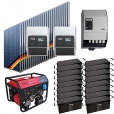 Автономная солнечная электростанция для дома 2