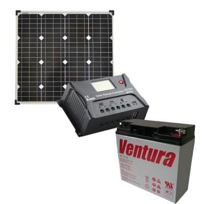 Автономная солнечная электростанция для мобильного использования