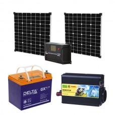 Автономная солнечная электростанция для дачи 1
