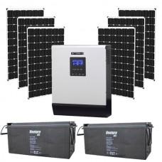 Автономная солнечная электростанция для дачи 4