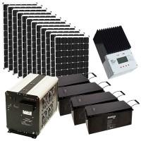 Автономная солнечная электростанция для дачи 5