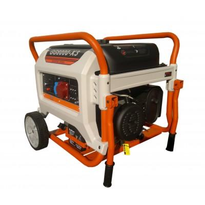 Бензиновый генератор REG E3 POWER GG8000-X3
